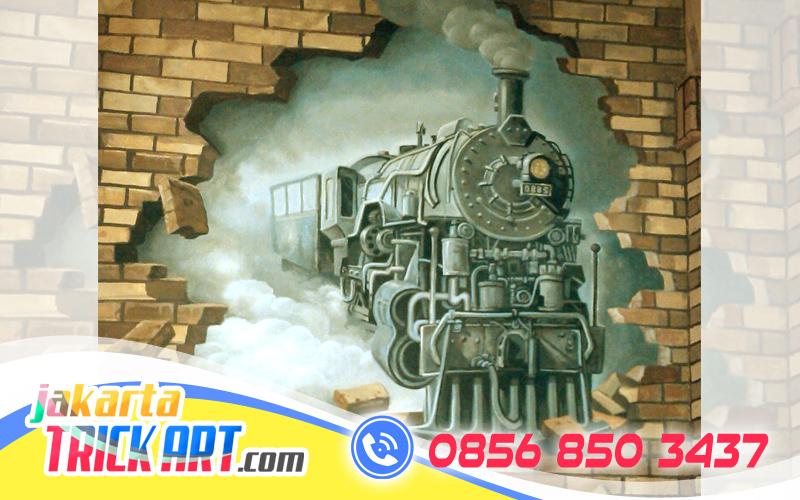Wa 62 856 8503 437 indosat jasa mural dinding 3d for Mural untuk cafe